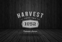 HARVEST 52 / • Dirección Creativa • Diseño de indentidad • Iconografía e ilustración • Desarrollo de marca/branding • Publicidad • Diseño web