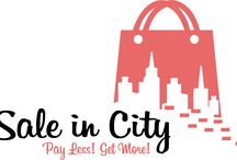 SaleinCity.com / Sale in City get best deal with Customers and Retailer. Best Discount near you. Get the Location of the Shop. Get your Discount. Compare Discount of Product you want to BUY.