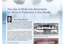 Pi Journal Articles and Research / Read about dental implant research conducted at Pi Dental Center.
