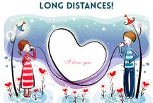 Long-Distance Relationships 18 / The long distance relationship could be quite challenging when the love of your life stays away from you, but do not let that distance create a gap in your relationship. Love is beyond time and space that cannot be restricted within the boundaries.