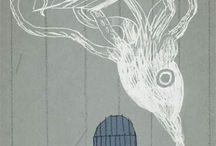 Favourite illustrators: Joe Todd Stanton / by Louisa Higgins