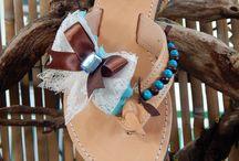 sandals / hand made