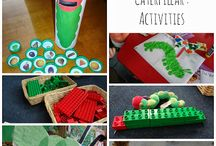 Book activities - The Very Hungry Caterpillar / by Sarah Werzner