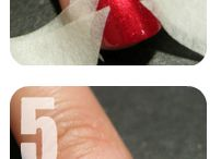 Perfect Christmas nails / How to instructions