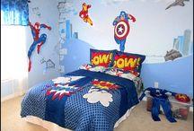 Comic book bedroom ideas