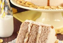Bananas Foster Layer Cake - this cake is full of cinnamon