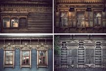 Siberian houses
