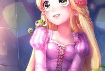 Anime Princess and Princes