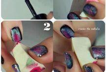 Nail arts/Diseños de uñas