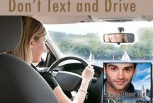 Don't Text And Drive Audio Infographics / Share our infographs and enter to win FREE audiobooks!
