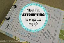 Organize / by Jennifer Springer
