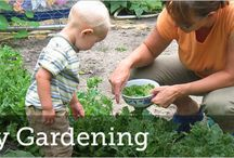 Fun in the Garden (with Kids) / Getting kids involved in growing vegetables is a great way to help them feel brave enough to try them.