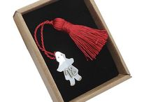 Christmas Lucky charms handmade silver 2018 Γουρια Χριστουγεννιάτικα χειροποιητα / Art work / Silver handmade charms