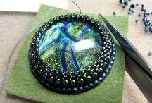 Beaded jewelry - haft koralikowy