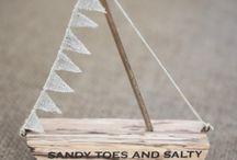 Nautical / Seaside / Accessories and decorations with a sea side and nautical theme.