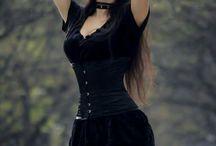 Gothic punk style