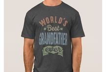 GRANDFATHER T-SHIRTS