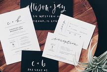 Invitations/save the date