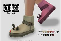"""Winter or Xmas Footwear Ladies"" - Theme Products - SaCaYa - Second Life Marketplace"