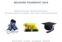 * BROCHURES 2014 * / Téléchargez les brochures et découvrez la destination de votre prochain séjour linguistique !  http://www.laroutedeslangues.com/