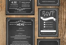 Blue convites