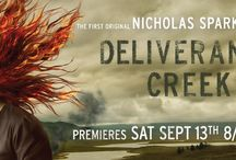 Premieres, Saturday, September 13, at 8pm ET/PT /   Best-selling author Nicholas Sparks (The Notebook, A Walk to Remember, Safe Haven) makes his television debut as executive producer of the two-hour programming event Deliverance Creek (#DeliveranceCreek).
