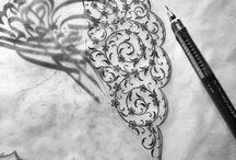 Hat ,Tezhip Sanatı Süslemeleri ve Çini