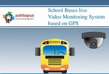 Onboard Video Surveillance System in School Bus / #Onboard #video #surveillance #system software easy to integrate in school transport vehicles for parents can live monitor drop-off and pick-up there children movements on  over Smartphone.
