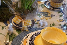 Cups,plates,tablesetting & decor