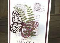 Butterfly cards / by Dori Edwards