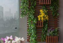 decoração varandas e jardins / by Jeane