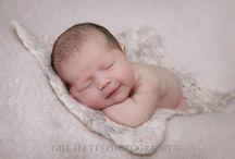 Newborn Arabella, 6 days new