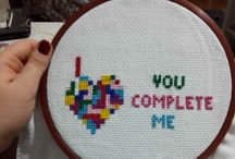 işlergüçler / Cross stitch