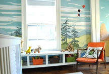 Murals, Decals & Wall Treatments in Nurseries & Kids Rooms / by Apartment Therapy Family