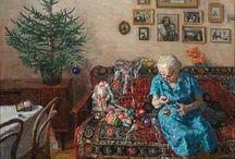 Советская елка в изобразительном искусстве