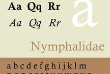 Type Specimen - Usable system fonts