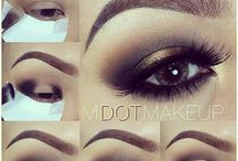 Make-up & eyebrows