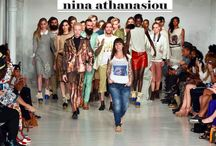 #NYFW: Nina Athanasiou S/S 2015 / NU EVOLUTION was the Beauty Sponsor of Nina Athanasiou's Spring/Summer Show at New York Fashion Week!   Find out more about Nina at http://www.nina-athanasiou.de