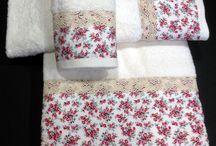 decoración toallas