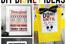 Disney Addict / I love all things Disney. I plan to take Addi every year of her life! Here are some fun ideas to make it even more fun.