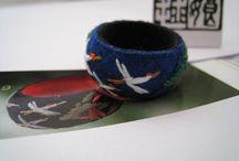 Yubinuki / Yubinuki : Kézzel készített Japán gyűszű.