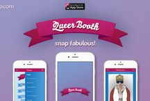 Our Look / Queer Booth iOS 8 design.