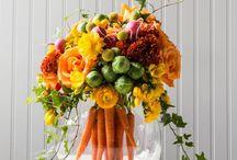 groente en voorjaar.