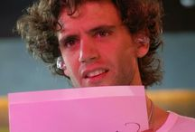 Mika with a note