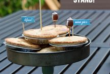 baking candle stick  caddy
