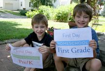 Homeschool 1st Grade / by Angela Bergeron