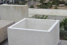 Pots & Planters / Cast Cement Concrete Flower & Plant Pots & Planters