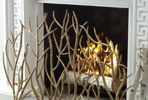 Fireplaces / Fireplaces, fireplace grates