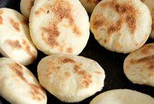Pains farcis - beignets