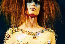 Cyberpunk fashion / #cyberpunk#lights#photoshoot#mycreations